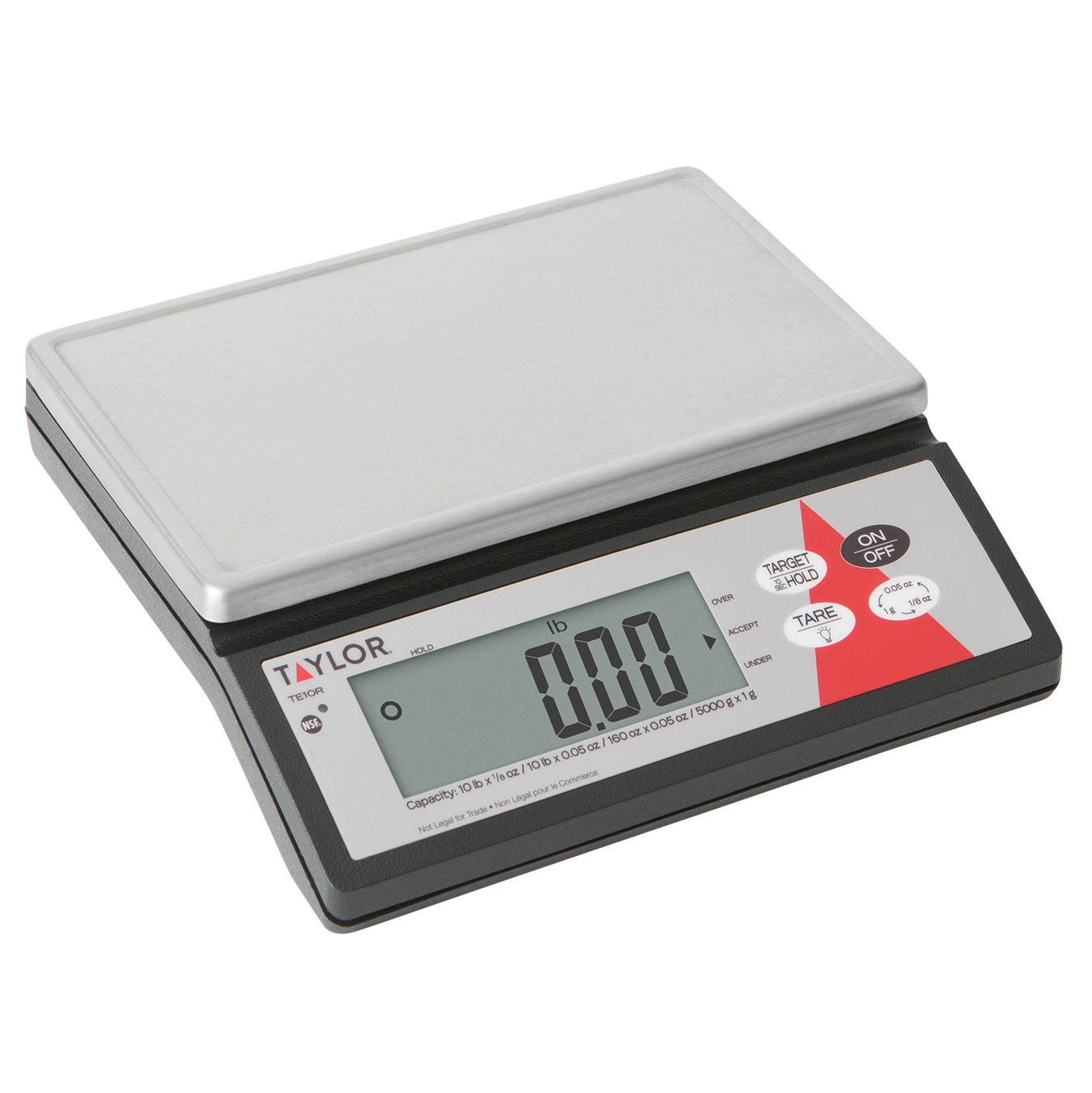 Taylor Precision TE10R scale, portion, digital