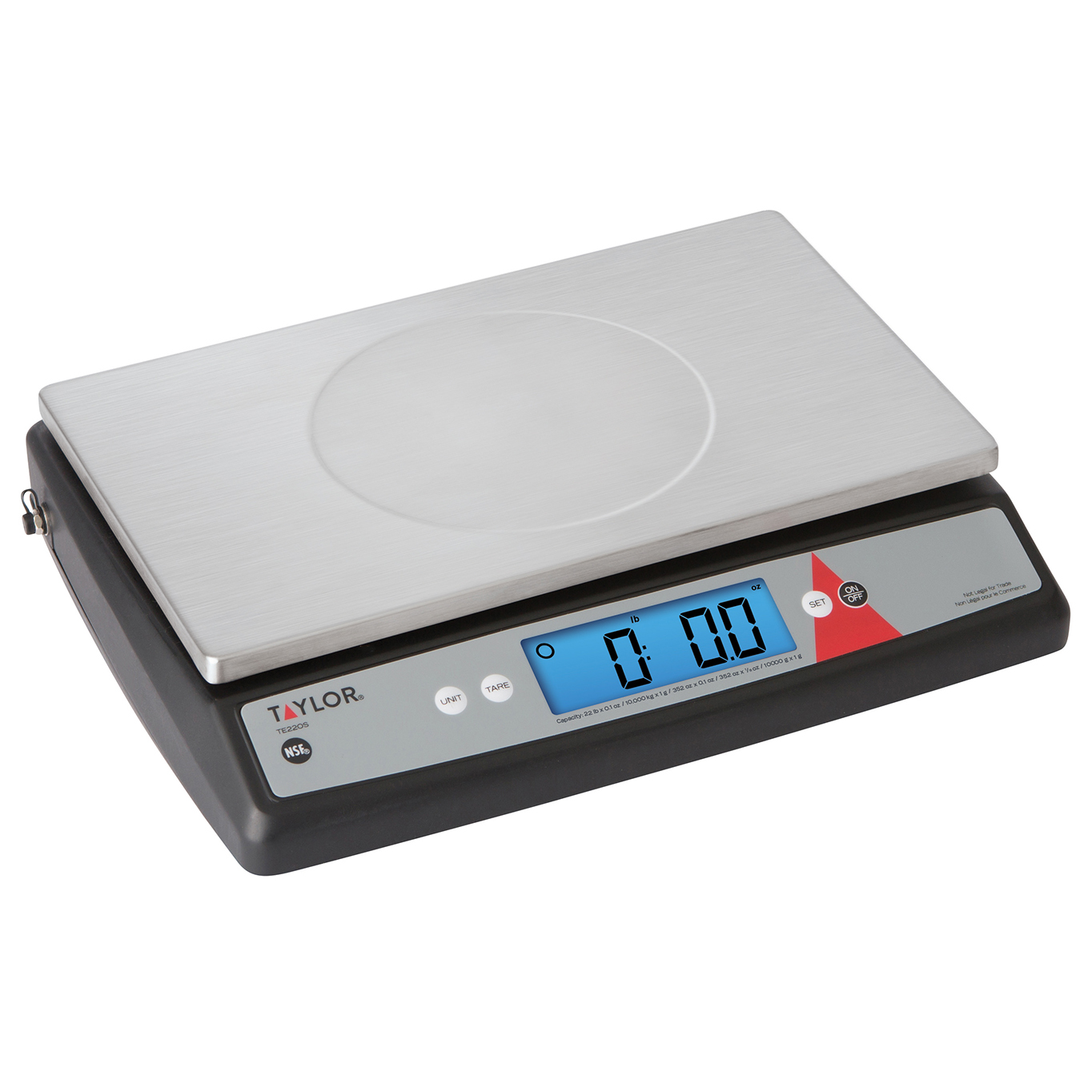 Taylor Precision TE33OS scale, portion, digital
