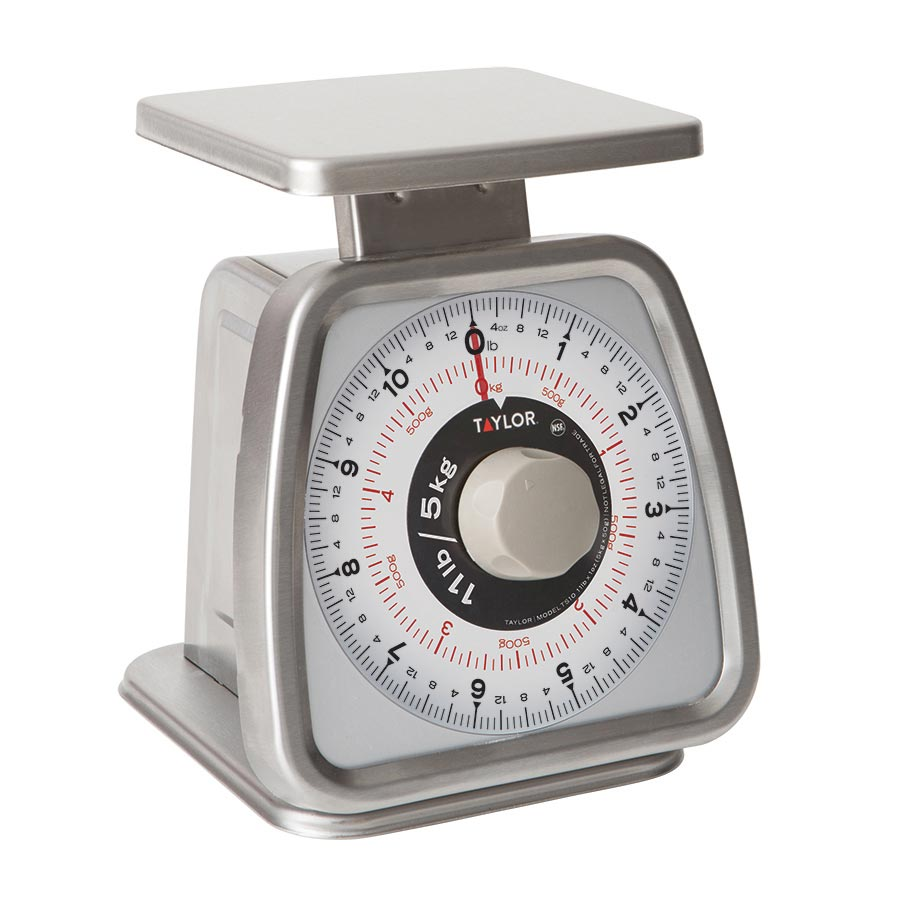 Taylor Precision TS10 scale, portion, dial
