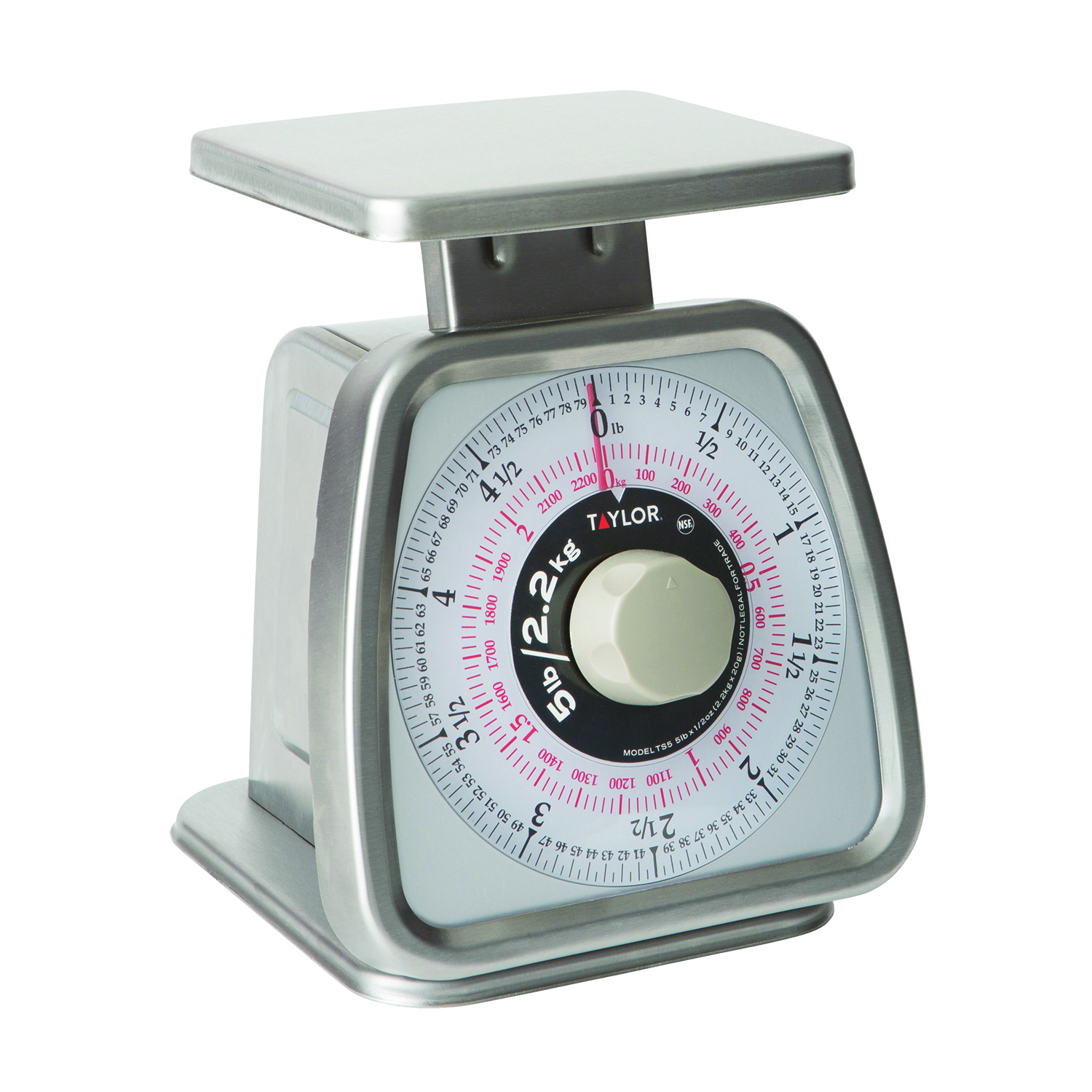 Taylor Precision TS5 scale, portion, dial