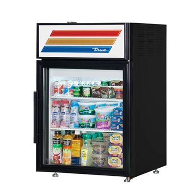 True Manufacturing Co., Inc. GDM-05-HC-LD refrigerator, merchandiser, countertop