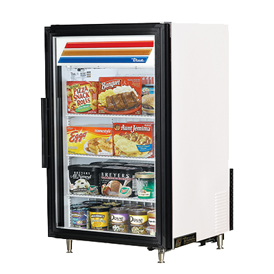 True Manufacturing Co., Inc. GDM-07F-HC~TSL01 freezer, merchandiser, countertop