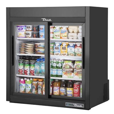 True Manufacturing Co., Inc. GDM-09-SQ-HC-LD refrigerator, merchandiser, countertop