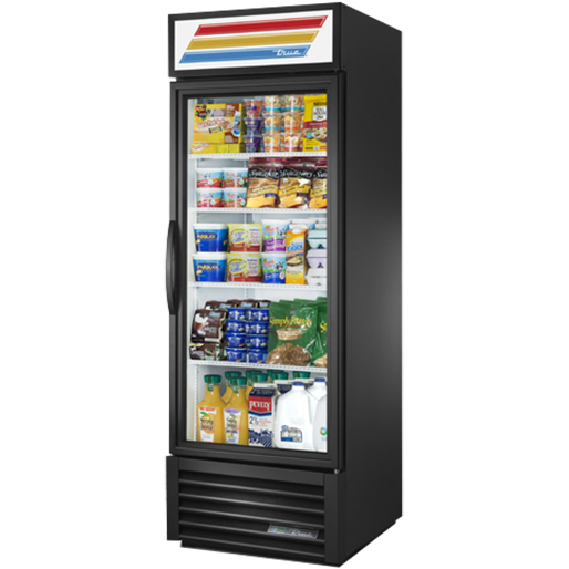 True Manufacturing Co., Inc. GDM-23-HC~TSL01 refrigerator, merchandiser