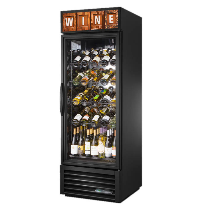 True Manufacturing Co., Inc. GDM-23W-HC~TSL01 refrigerator, wine, reach-in