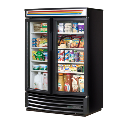 True Manufacturing Co., Inc. GDM-35SL-RF-HC-LD refrigerator, merchandiser