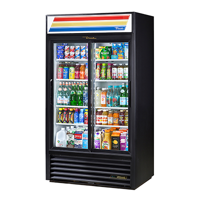 True Manufacturing Co., Inc. GDM-37-HC-LD refrigerator, merchandiser