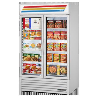 True Manufacturing Co., Inc. GDM-43F-HC~TSL01 freezer, merchandiser