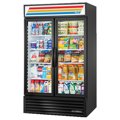 True Manufacturing Co., Inc. GDM-43-HC~TSL01 refrigerator, merchandiser