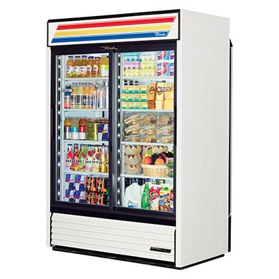 True Manufacturing Co., Inc. GDM-47RL-HC-LD refrigerator, merchandiser