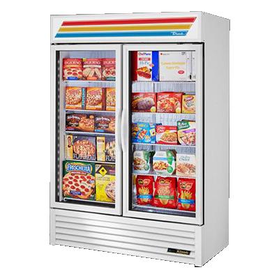 True Manufacturing Co., Inc. GDM-49F-HC~TSL01 freezer, merchandiser