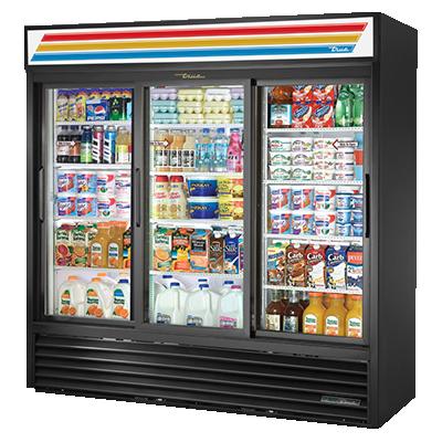 True Manufacturing Co., Inc. GDM-69-HC-LD refrigerator, merchandiser