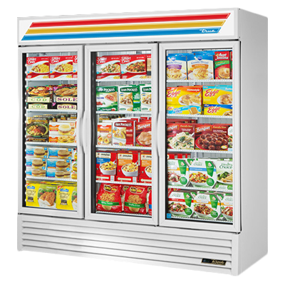 True Manufacturing Co., Inc. GDM-72F-HC~TSL01 freezer, merchandiser