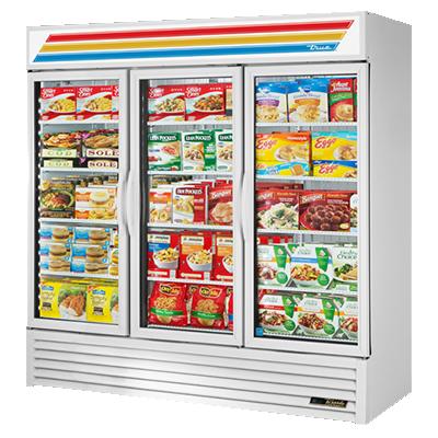 True Manufacturing Co., Inc. GDM-72F-HC~TSL01 freezer, merchandiser