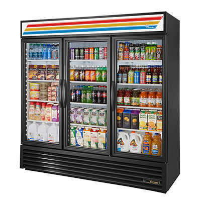 True Manufacturing Co., Inc. GDM-72-HC~TSL01 refrigerator, merchandiser