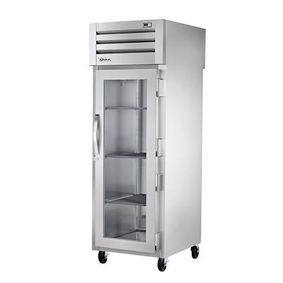 True Manufacturing Co., Inc. STA1HPT-1G-1S heated cabinet, pass-thru