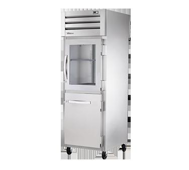 True Manufacturing Co., Inc. STA1RPT-1HG/1HS-1S-HC refrigerator, pass-thru