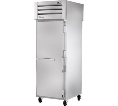 True Manufacturing Co., Inc. STA1RPT-1S-1G-HC refrigerator, pass-thru