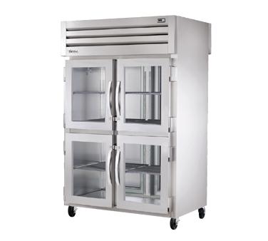 True Manufacturing Co., Inc. STA2RPTVLD-4HG-2S refrigerator, pass-thru