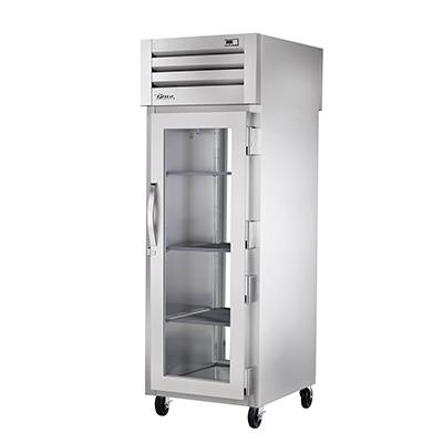 True Manufacturing Co., Inc. STG1RPT-1G-1G-HC refrigerator, pass-thru