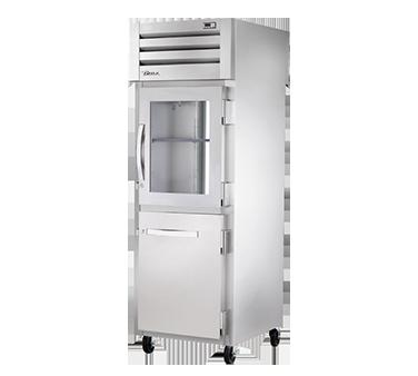 True Manufacturing Co., Inc. STG1RPT-1HG/1HS-1G-HC refrigerator, pass-thru