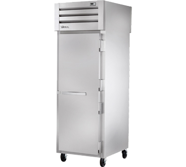 True Manufacturing Co., Inc. STG1RPT-1S-1G-HC refrigerator, pass-thru