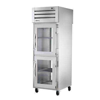 True Manufacturing Co., Inc. STG1RPT-2HG-1G-HC refrigerator, pass-thru