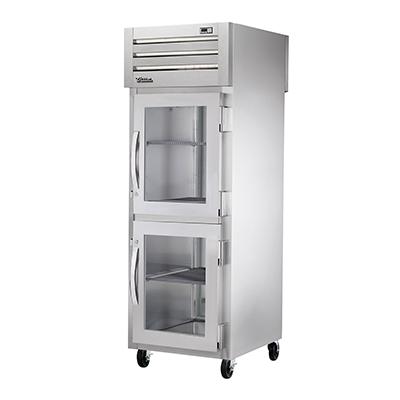 True Manufacturing Co., Inc. STG1RPT-2HG-1S-HC refrigerator, pass-thru