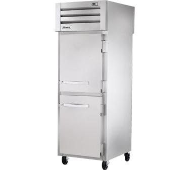 True Manufacturing Co., Inc. STG1RPT-2HS-1S-HC refrigerator, pass-thru