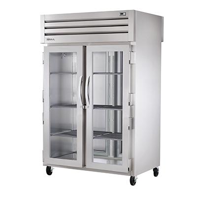 True Manufacturing Co., Inc. STG2HPT-2G-2S heated cabinet, pass-thru