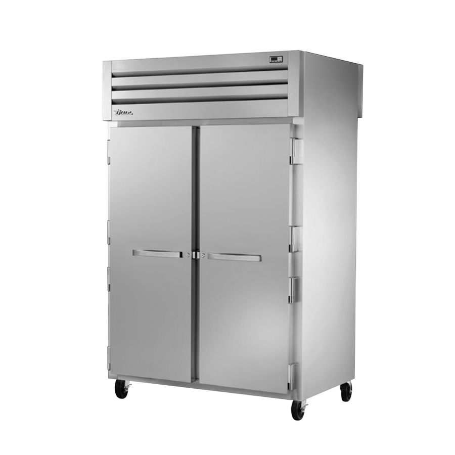 True Manufacturing Co., Inc. STG2RPT-2S-2G-HC refrigerator, pass-thru