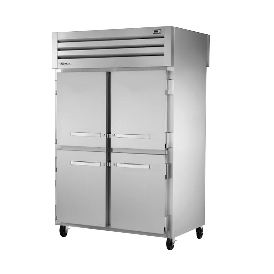True Manufacturing Co., Inc. STG2RPT-4HS-2S-HC refrigerator, pass-thru