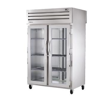 True Manufacturing Co., Inc. STG2RPTVLD-2G-2S refrigerator, pass-thru