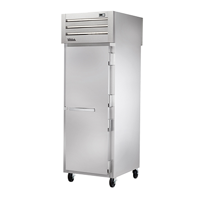 True Manufacturing Co., Inc. STR1FPT-1S-1S freezer, pass-thru