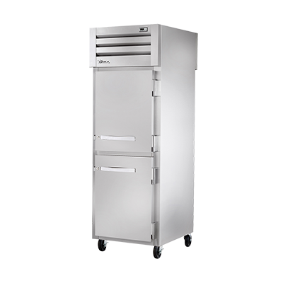 True Manufacturing Co., Inc. STR1HPT-2HS-2HG heated cabinet, pass-thru