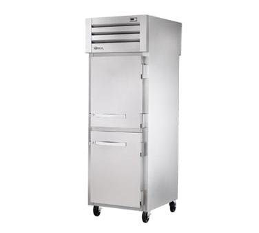 True Manufacturing Co., Inc. STR1HPT-2HS-2HS heated cabinet, pass-thru