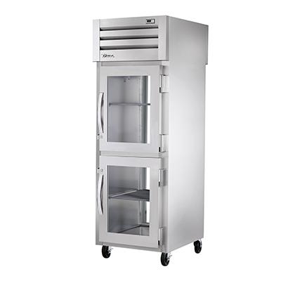 True Manufacturing Co., Inc. STR1RPT-2HG-1G-HC refrigerator, pass-thru