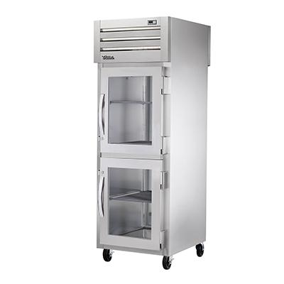 True Manufacturing Co., Inc. STR1RPT-2HG-1S-HC refrigerator, pass-thru