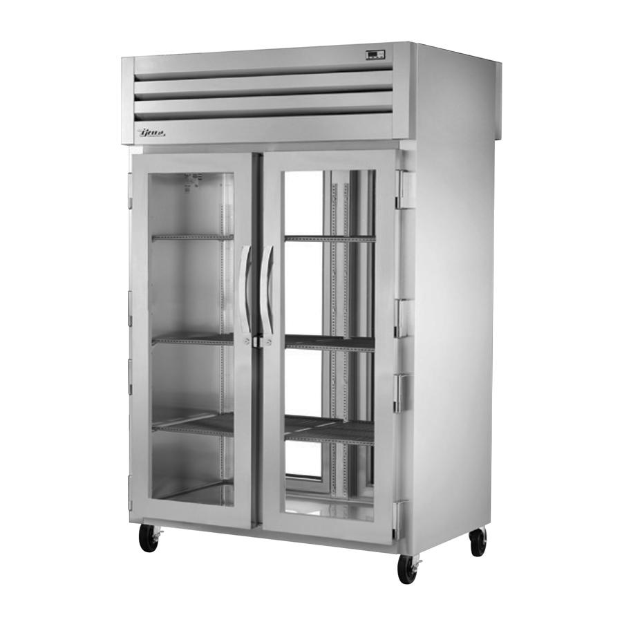 True Manufacturing Co., Inc. STR2RPT-2G-2G-HC refrigerator, pass-thru
