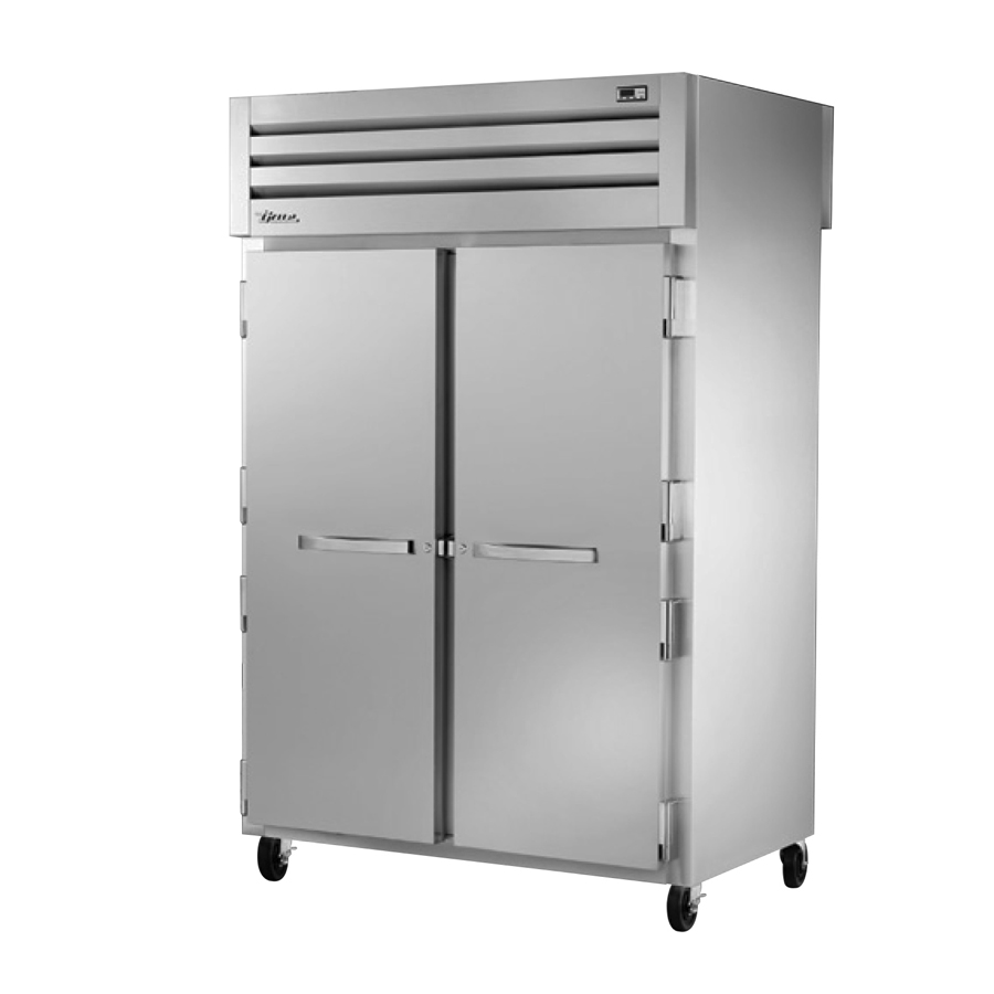 True Manufacturing Co., Inc. STR2RPT-2S-2S-HC refrigerator, pass-thru
