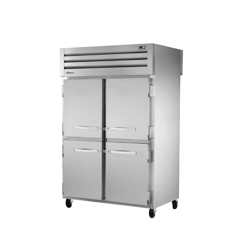 True Manufacturing Co., Inc. STR2RPT-4HS-2G-HC refrigerator, pass-thru
