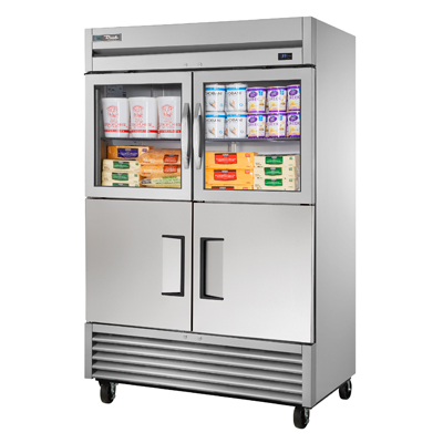True Manufacturing Co., Inc. T-49-2-G-2-HC~FGD01 refrigerator, reach-in