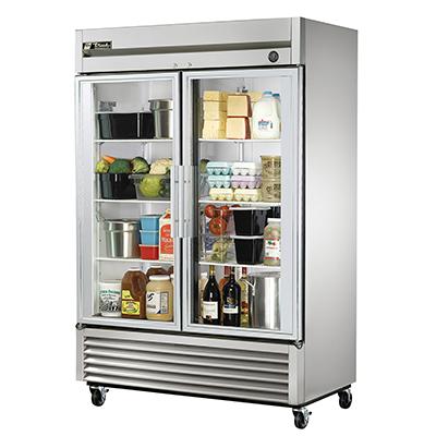 True Manufacturing Co., Inc. T-49G-HC~FGD01 refrigerator, reach-in
