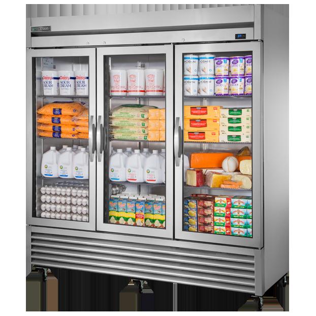 True Manufacturing Co., Inc. T-72G-HC~FGD01 refrigerator, reach-in