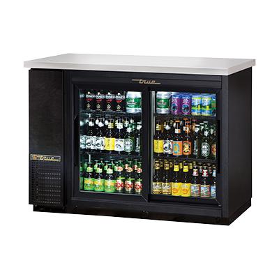 True Manufacturing Co., Inc. TBB-24-48G-SD-HC-LD back bar cabinet, refrigerated