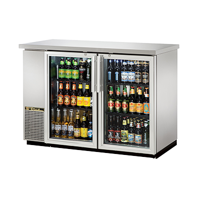 True Manufacturing Co., Inc. TBB-24-48G-S-HC-LD back bar cabinet, refrigerated