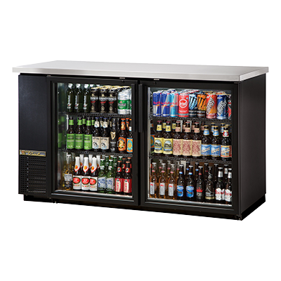 True Manufacturing Co., Inc. TBB-24-60G-HC-LD back bar cabinet, refrigerated