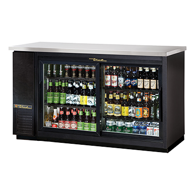 True Manufacturing Co., Inc. TBB-24-60G-SD-HC-LD back bar cabinet, refrigerated