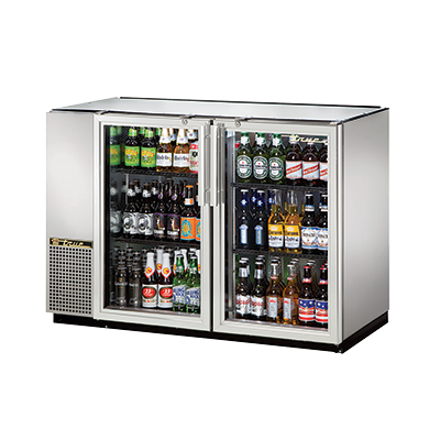 True Manufacturing Co., Inc. TBB-24GAL-48G-S-HC-LD back bar cabinet, refrigerated