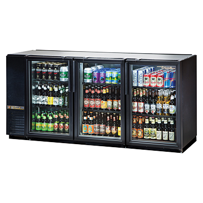 True Manufacturing Co., Inc. TBB-24GAL-72G-HC-LD back bar cabinet, refrigerated